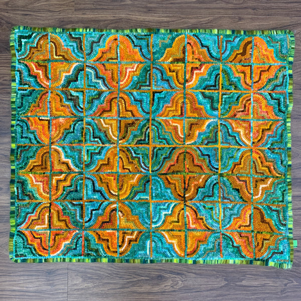 Italian Geometric - Rug Hooking Supplies