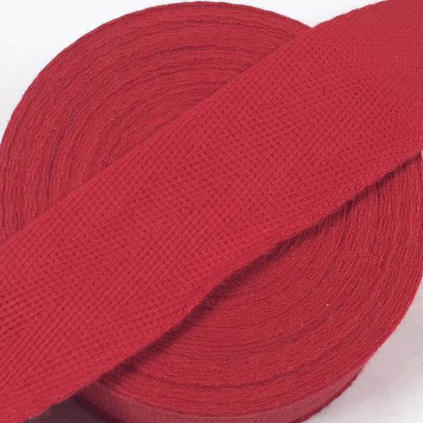 Binding - Red - Rug Hooking Supplies