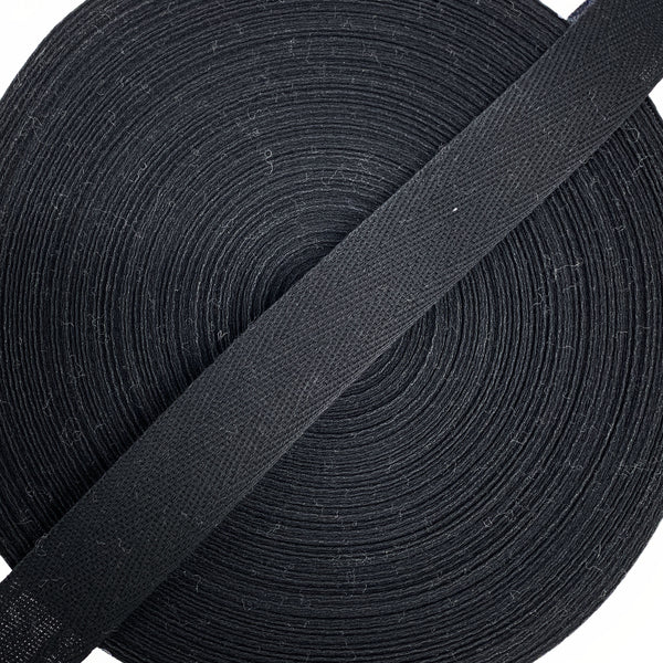 Binding - Black - Rug Hooking Supplies
