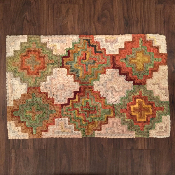 Neutral Geo - Rug Hooking Supplies