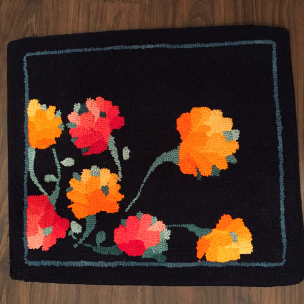 Dark Posies - Rug Hooking Supplies