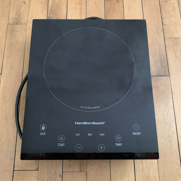 Gently Used Hamilton Beach Induction Hot Plate