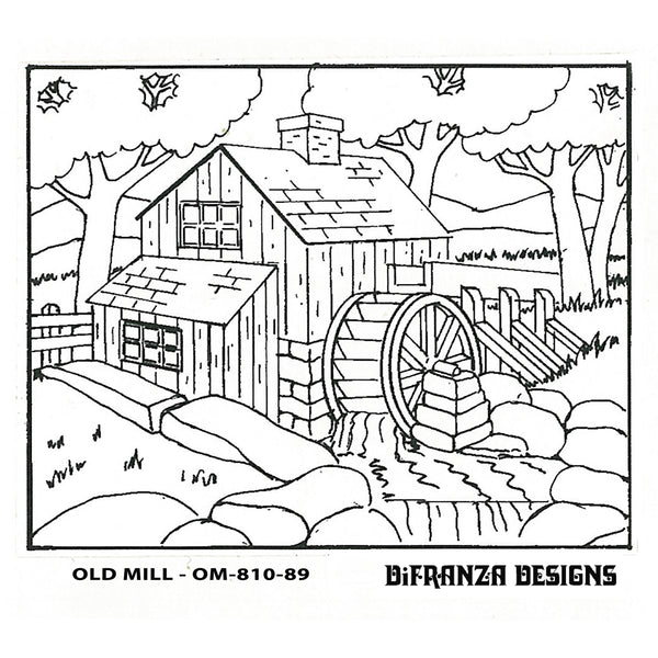 DiFranza Designs - Old Mill - Rug Hooking Supplies