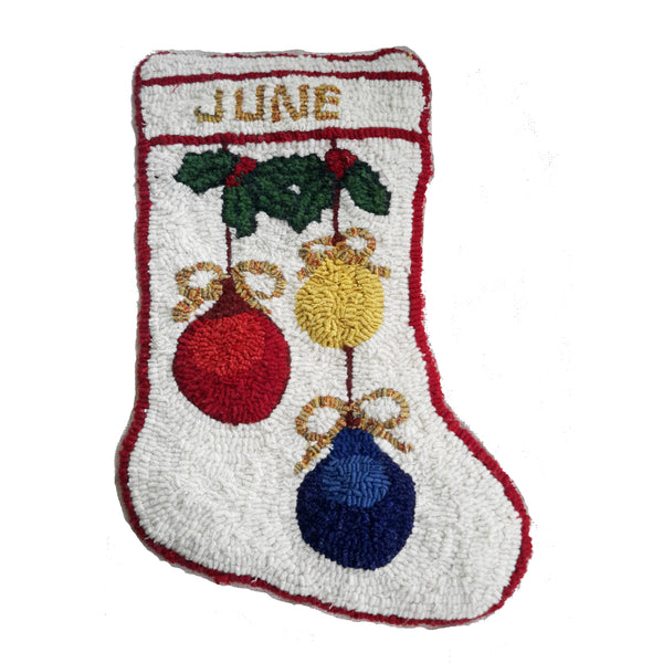 Kit - Ornaments Stocking - Rug Hooking Supplies