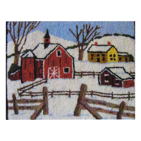 Kit - Vermont Winter - Rug Hooking Supplies