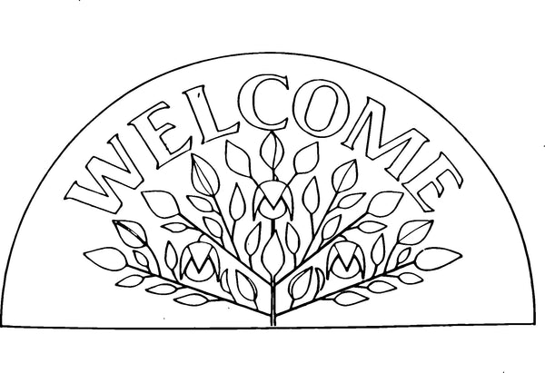 DiFranza Designs - Shaker Welcome Rug - Rug Hooking Supplies