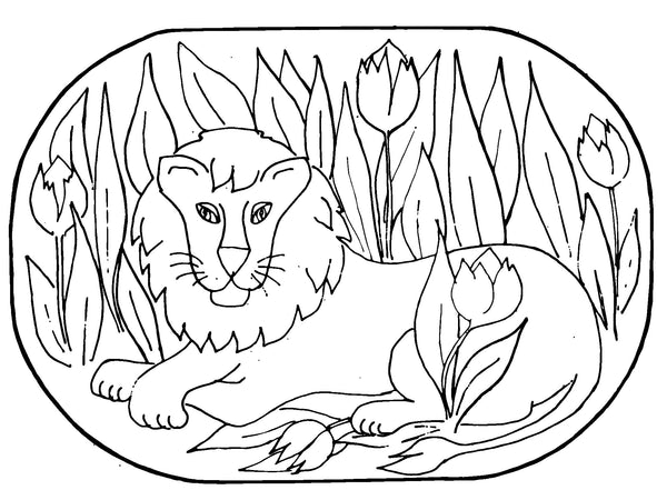 DiFranza Designs - The Lion - Rug Hooking Supplies