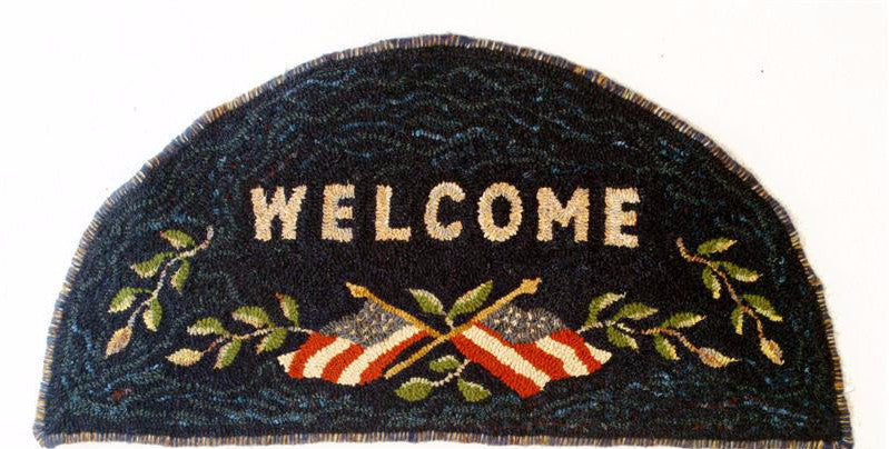 Welcome Mat - Rug Hooking Supplies