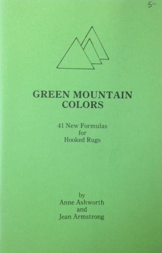 Green Mountain Colors - New Formulas - Rug Hooking Supplies