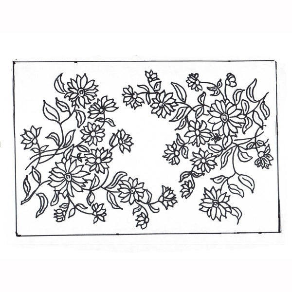 Green Mountain Design - Daisy Garden - Rug Hooking Supplies