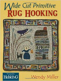 Wide Cut Primitive Rug Hooking - Rug Hooking Supplies