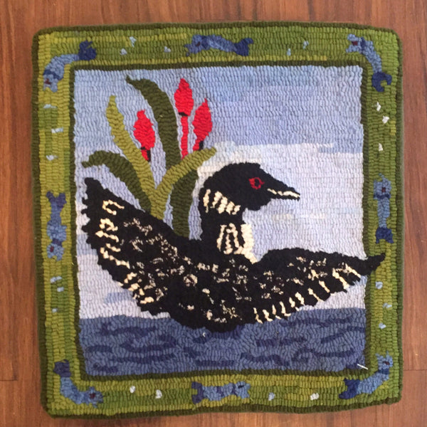 The Loon - Rug Hooking Supplies