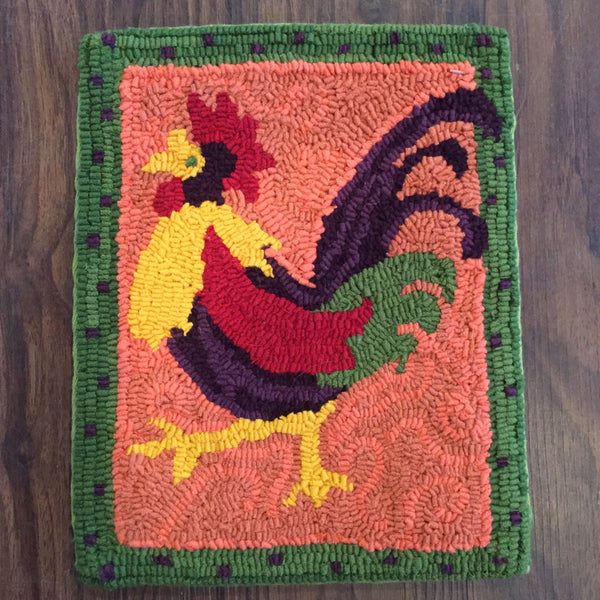 The Rooster - Rug Hooking Supplies