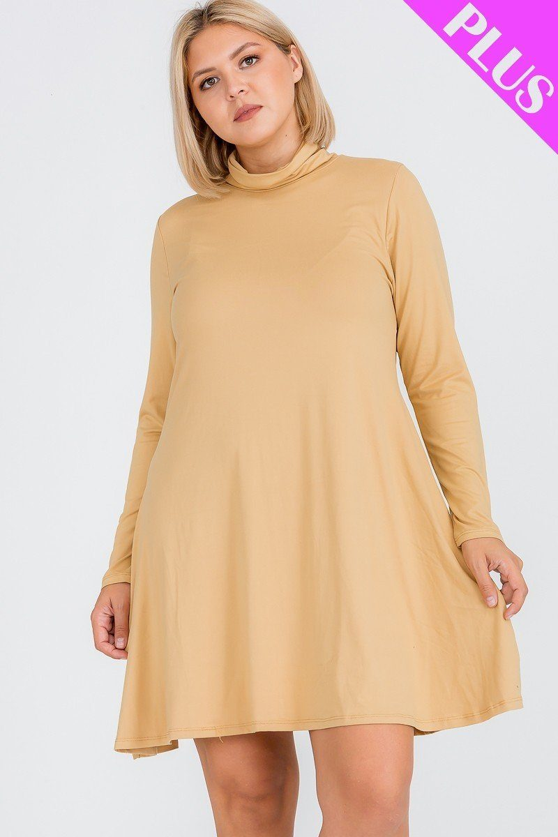 Plus Size Flare Dress