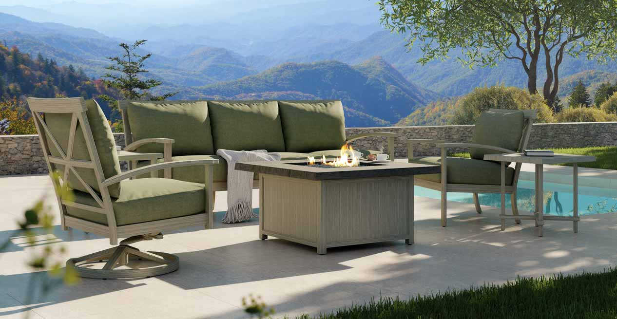 Castelle Quality Best Outdoor Traditional Cast Patio Furniture