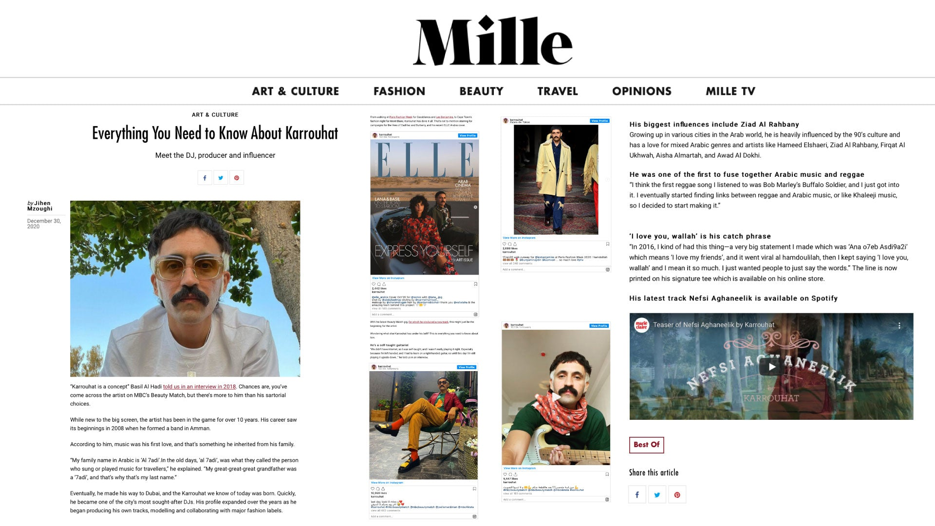 Mille.com Press (everything you need to know about karrouhat)