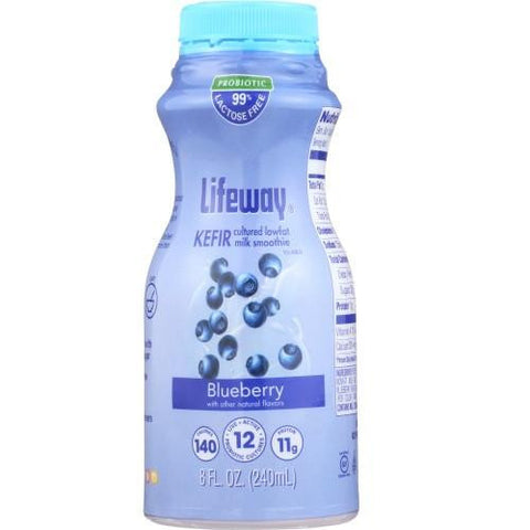 Lifeway Low Fat Blueberry - Single, 8 Oz (Pack of 6)