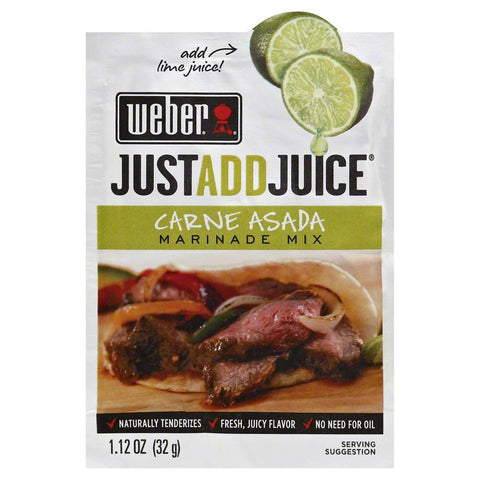 Weber Carne Asada Seasoning, 1.2 Oz (Pack of 12)