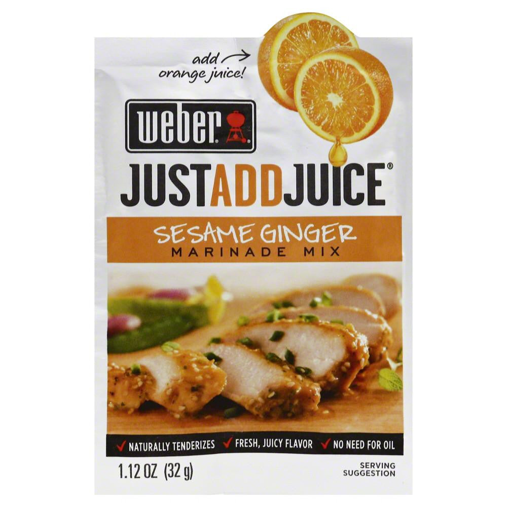 Weber Sesame Ginger Seasoning, 1.2 Oz (Pack of 12)