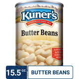 Kuner's Butter Beans, 15.5oz (Pack of 12)