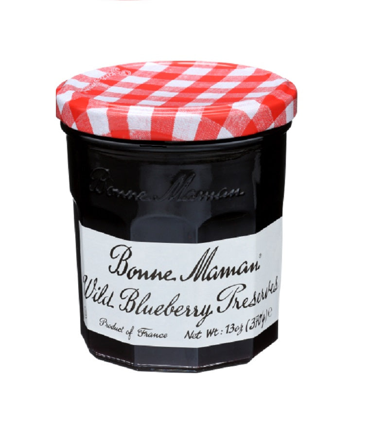 Bonne Maman Wild Blueberry, 13Oz (Pack of 6)