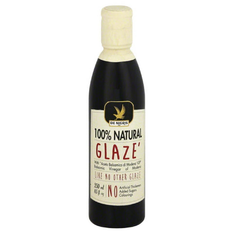 De Nigris Balsamic Vinegar of Modena Glaze, 8.5 Fo (Pack of 6)