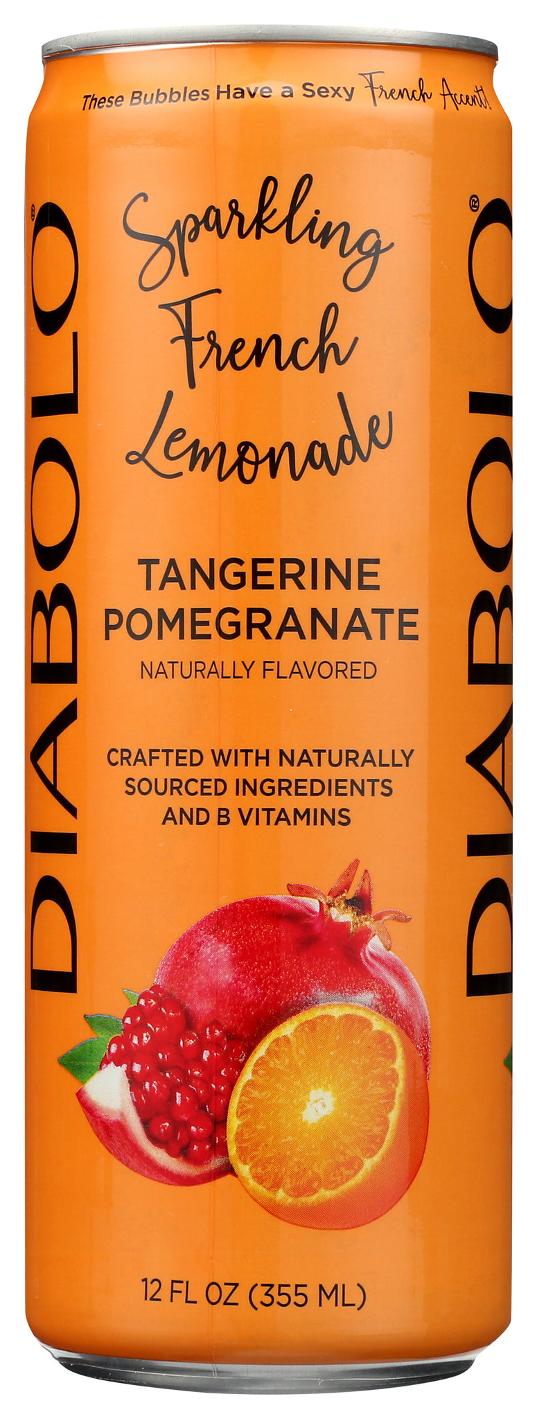 Diabolo Tangerine Pomegranate, 12OZ (Pack of 12)