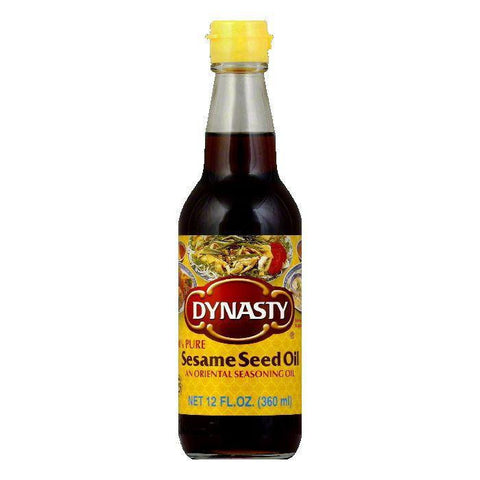 Dynasty Oil Sesame, 12 OZ (Pack of 6)