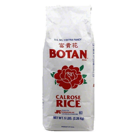 Botan Rice 5 lb, 5 LB (Pack of 8)