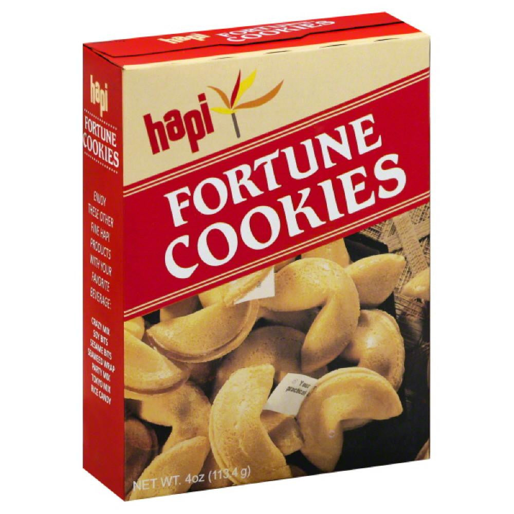 Hapi Fortune Cookies, 4 Oz (Pack of 12)