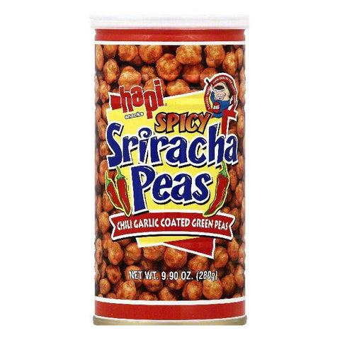 Hapi Spicy Sriracha Peas, 9.9 OZ (Pack of 12)