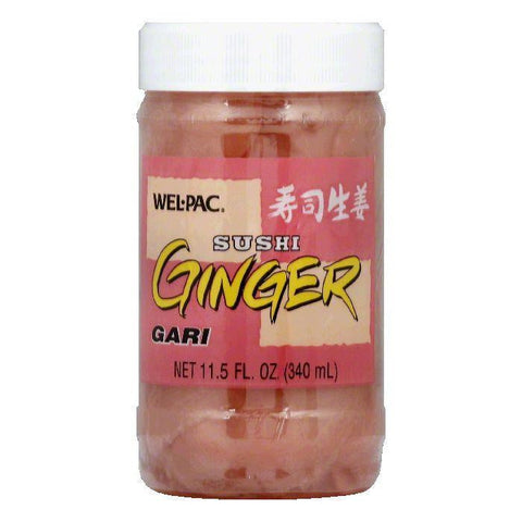 Wel Pac Sushi Shoga Ginger Sliced, 11.5 OZ (Pack of 12)