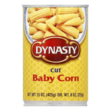 Dynasty Baby Sweet Corn Stir Fry, 15 OZ (Pack of 12)