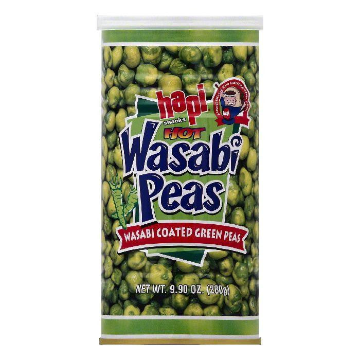 Hapi Hot Wasabi Peas, 9.9 OZ (Pack of 12)