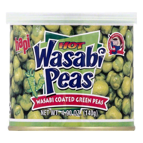 Hapi Hot Wasabi Peas, 4.9 OZ (Pack of 12)