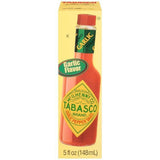 McIlhenny Co. Tabasco Garlic Pepper Hot Sauce 5 fl. Oz (Pack of 12)