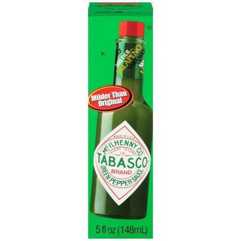 McIlhenny Co. Tabasco Green Pepper Hot Sauce 5 fl. Oz (Pack of 12)