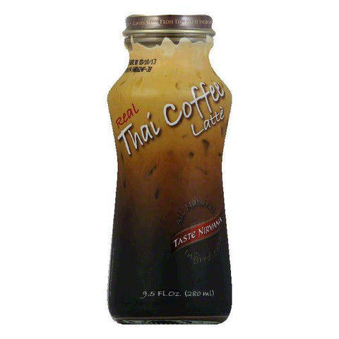 Taste Nirvana Coffee Rtd Thai Natural, 9.5 FO (Pack of 12)