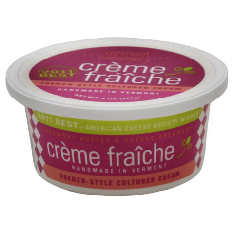 Vermont Creme Fraiche, 8 Oz (Pack of 12)
