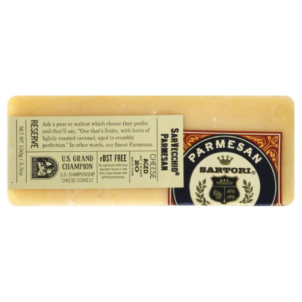 Sartori SarVecchio Parmesan Cheese, 5.3 Oz (Pack of 12)