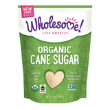 Wholesome Sweeteners Organic Cane Sugar, 2 Lb (Pack of 12)