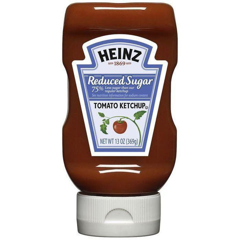 Heinz Reduced Sugar Tomato Ketchup 13 Oz (Pack of 6)