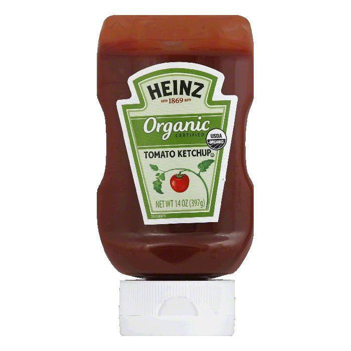 Heinz Organic Tomato Ketchup, 14 Oz (Pack of 6)