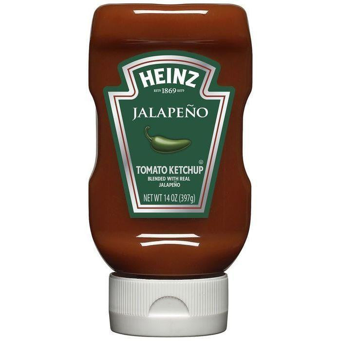 Heinz Jalapeno Tomato Ketchup 14 Oz (Pack of 6)
