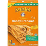 Annie's Homegrown Organic Honey Grahams Whole Grain Graham Crackers 14.4 Oz (Pack of 12)