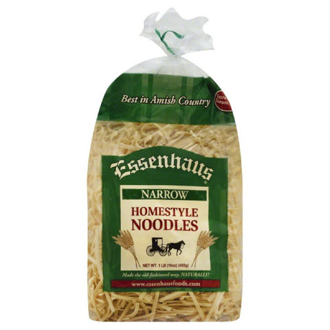Essenhaus Narrow Homestyle Noodles, 16 Oz (Pack of 12)