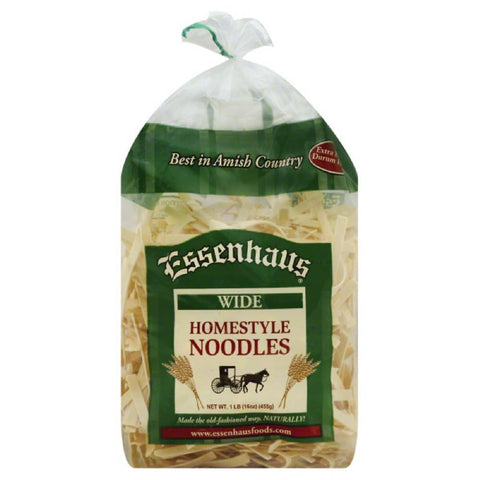 Essenhaus Wide Homestyle Noodles, 16 Oz (Pack of 12)