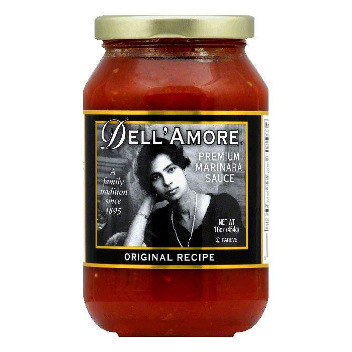 Dell Amore Original Marinara Sauce, 16 OZ (Pack of 12)