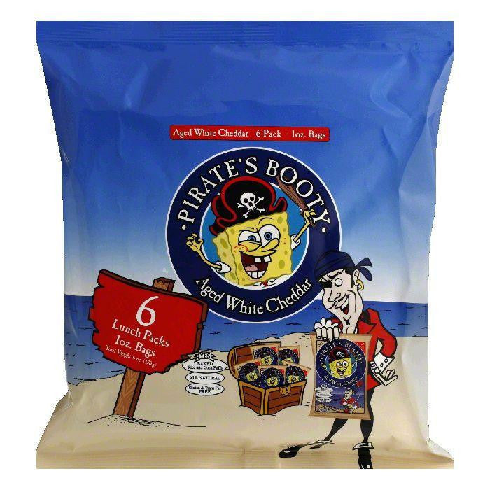 Robert's American Gourmet Pirates Booty Multipak, 6 OZ (Pack of 12)
