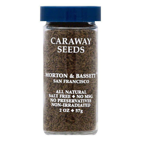 Morton & Bassett Caraway Seeds, 2 OZ (Pack of 3)